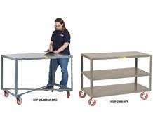 ALL-WELDED MOBILE TABLES